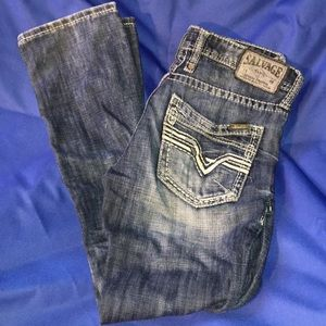Salvage Havoc Slim-Straight Jeans